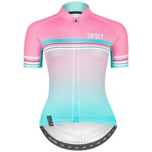 Baisky Cycling Bike Tops Women Riding Tops Girl Jersey-Fresh Pink(T2327G)