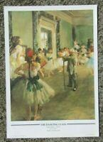 Vintage print - The dancing class by Edgar Degas - ready to frame print fine art
