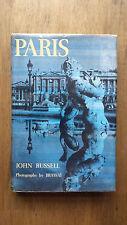 Brassai & John Russell – Paris (1st/1st UK 1960 hb dw) Paris De Nuit photography