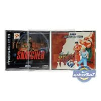 10 x Game Box Protectors for Sega Mega CD STRONGEST 0.5mm Plastic Display Case