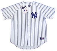 New York Yankees MLB Majestic Pinstripe Big & Tall Home Men's Replica Jersey