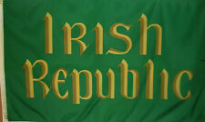 Irish Republic Flag - Ireland - Green & Gold Banner - 3' X 5' Polyester