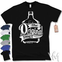 T-Shirt - ORIGINAL SINNER - Party Moonshine Bier Whiskey Fun Gr. S M L XL XXL