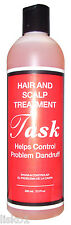 TASK TONIC (HASK) HAIR & SCALP DANDRUFF TREATMENT HELPS SCALP ITCH 12oz
