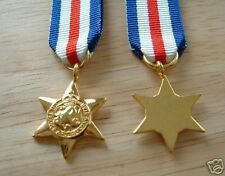 MEDALS - WW2 - FRANCE AND GERMANY STAR - MINIATURE