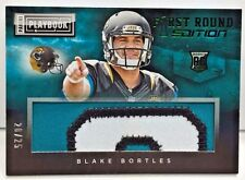 Blake Bortles 2014 Playbook First Round Jumbo 3 color Patch RC #d 20/25  JAGUARS