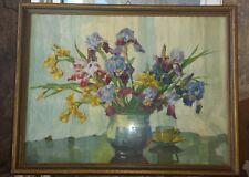 A. Gasteiger Bild/ Blumen/ Stilllleben ca. 80 x 62 cm