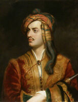 "perfact oil painting handpainted on canvas ""Lord Byron in Albanian dress ""@N4926"