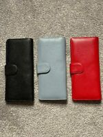 Genuine Leather Hand purse for Ladies with Magnetic Lock and Zipper Pocket