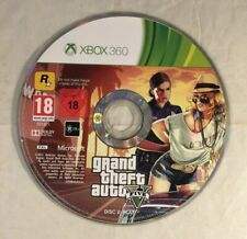 XBOX 360 GRAND THEFT AUTO V/5-- PLAY DISC ONLY (DISC 2)  MICROSOFT
