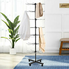 Jewelry Shop Hat Cap Display Stand Rotating Adjustable Clothes Organizer 7 Tiers