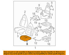 GM OEM Front Seat Bottom-Foam Cushion Pad Insert 88979479