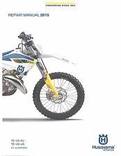 Husqvarna workshop service manual 2015 TE 125 US & TE 125 EU