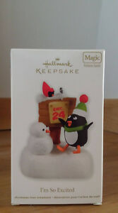 Hallmark I'm So Excited 2011 Christmas Ornament