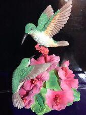 Revolving Humming Bird Figurine By Sanfrancisco Music Box Company