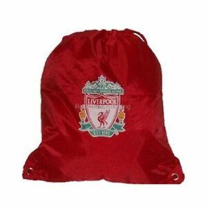 Official Liverpool FC Drawstring Gym Swim Sports Bag BN
