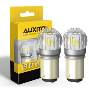AUXITO 1157 2057 2357 7528 BAY15D LED Bulbs Back Up Reverse Lights White CANBUS