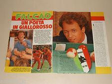 PAULO ROBERTO FALCAO clipping articolo fotografia 1983 AT30 AS ROMA