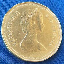 1 Dollar 1987. Elizabeth II, Canada coin, CANADA 1987 DOLLAR !