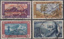 Switzerland #B49-52 Used