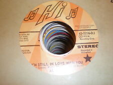 Al Green 45 I'm Still In Love With You HI PROMO