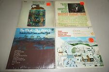 Lot of 4 The Music City Sounds Promo LP-Featuring Lloyd Green and Pete Wade + 3