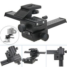 4 Way Macro Shot Focusing Focus Rail Metal Slider for Nikon Peantax DSLR Camera