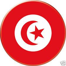 TUNISIE TUNISIA DRAPEAU FLAG PAYS COUNTRY Ø25MM PIN BADGE BUTTON