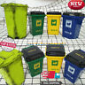 "1/6 scale Dirty Old Trash Can Rubbish bags Bottles Garbage Set For 12"" Figure"