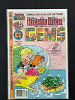 RICHIE RICH GEMS #24 HARVEY COMICS 1978 VG/FN
