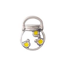 Origami Owl Silver Firefly Jar Charm