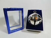 Reed & Barton CHRISTMAS HOLLY BELL 2002 Silver Plated with Box