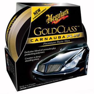 (70,42€/kg) Meguiars - Gold Class Carnauba Plus Premium Paste Wax inkl. Pad 311g