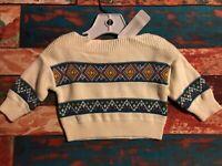 Baby Girls Gymboree Rainbow Cloud Sweater Black /& Multi New