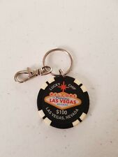 Keyring Collectable Key Chain Las Vegas Casino Lucky Chip $100