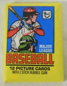 1979 Topps Baseball Complete Sealed Wax Pack BC3199