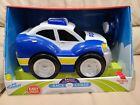 KID GALAXY My First RC Police Car Remote Control Toy Blue 2 Piece