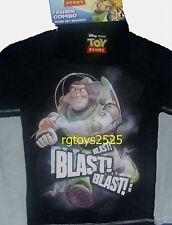 Disney Toy Story Long Sleeve T-Shirt size 7 Buzz Lightyear New childs w beanie