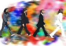 The Beatles Canvas Print Music Icons A3