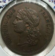 1889 France Exposition Medal - Medaille de Centenaire - Uncirculated Copper