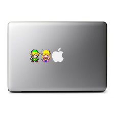 8-Bit Retro Link and Zeld Decal Set for MacBook Pro, DELL, iPhone 8, iPhone X