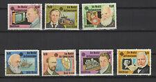 personnalité Guinée-Bissau 1983 série de 7 timbres / T1673