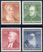 BUND 1952, MiNr. 156-159, 156-59, tadellos postfrisch, Mi. 130,-
