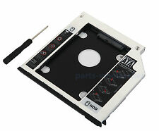 2nd SATA HD SSD HDD Caddy Disque Dur pour Dell Latitude E6400 E6410 E6500 M2400