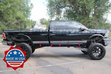 """for 09-18 Dodge Ram Crew Cab 6.4/'Short Bed Flat Body Side Molding Trim Accent 1/"""""""