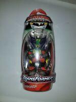 "Year 2006 Hasbro Transformers Titanium Die Cast 3"" Figure Decepticon SCORPONOK"