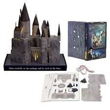 universal studios harry potter light-up hogwarts castle toy model kit new