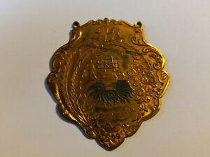 1899 ANTIQUE FRATERNAL PIN SIGNED SIMON NORDLINGER LA CA JEWELER JULY 11-14 #23