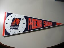 NBA Phoenix Suns (Pennant Wall Clock) works great, some cosmetic damage