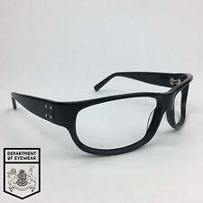 Bannana República eyeglassses Negro Envoltura alrededor del marco
